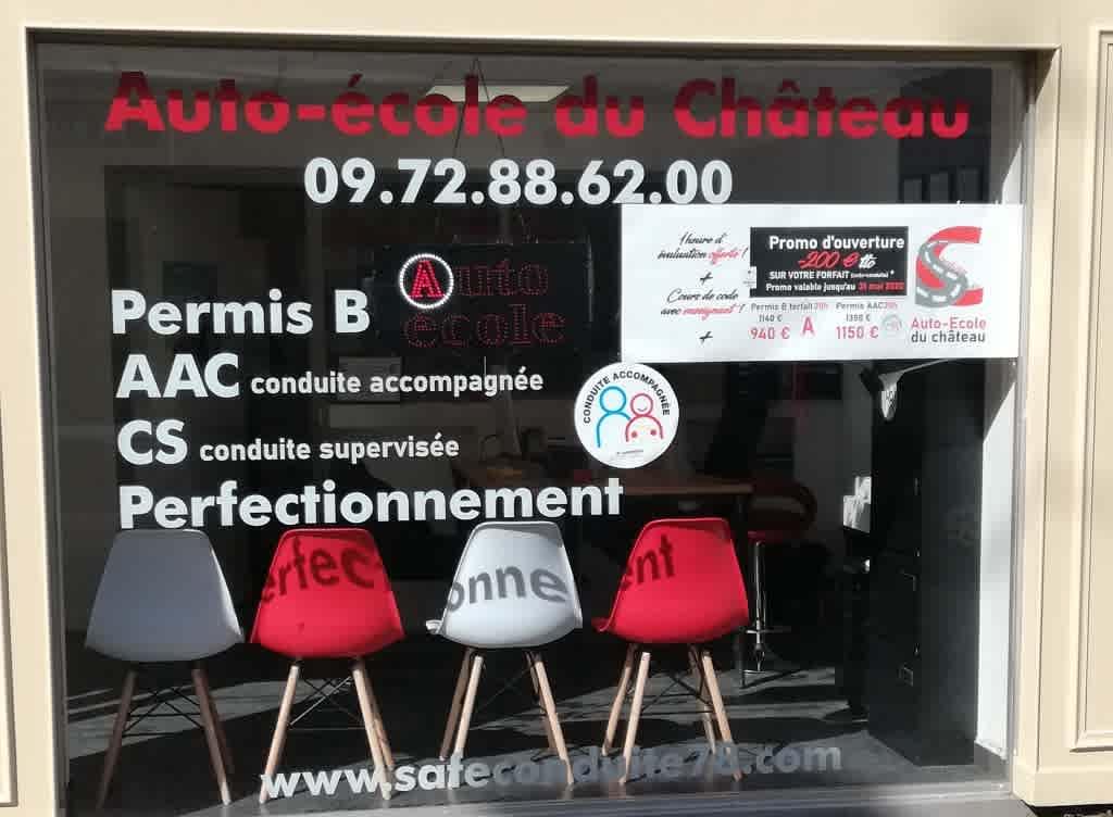 Safe Conduite - Auto-école du Château - Rambouillet