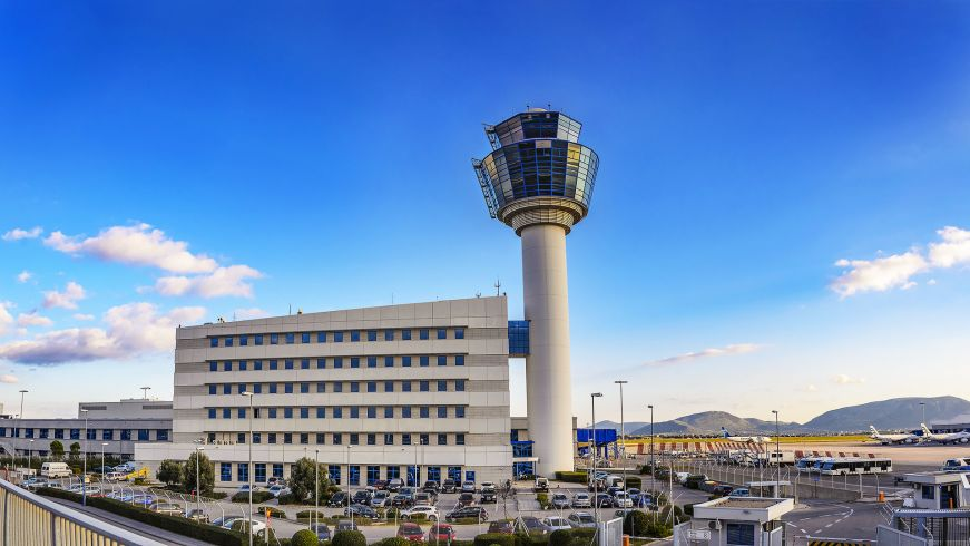 Athens Airport, Greece