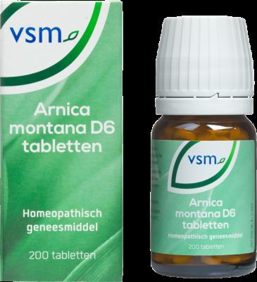 Afbeelding: Homeopathisch geneesmiddel VSM Arnica montana D6 tabletten