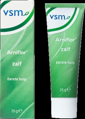 Afbeelding: VSM Arniflor zalf eerste hulp voor blauwverkleurde huid