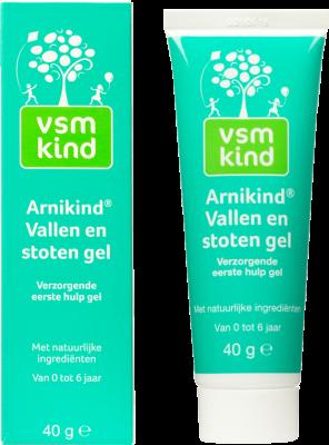 Afbeelding: VSM Kind Arnikind Vallen en stoten gel eerste hulp
