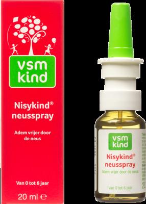 Afbeelding: VSM Kind Nisykind neusspray om vrijer door de neus te ademen