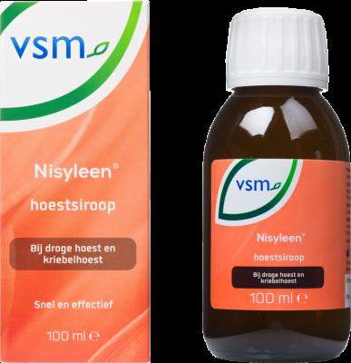 Afbeelding: Snelle verlichting van je hoest met VSM Nisyleen hoestsiroop