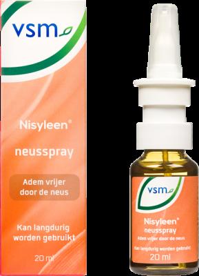 Afbeelding: VSM Nisyleen neusspray om vrijer door de neus te ademen