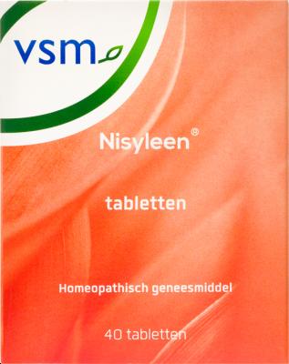 Afbeelding: Homeopathisch geneesmiddel VSM Nisyleen tabletten