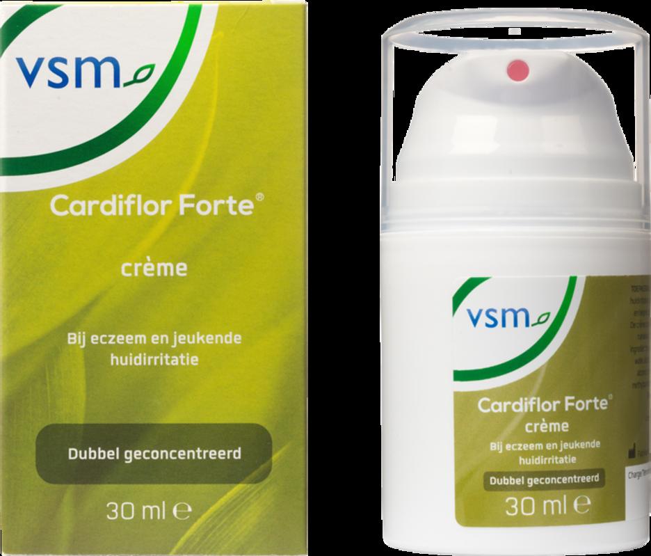 Afbeelding: VSM Cardiflor forte bij eczeem en jeukende huidirritatie
