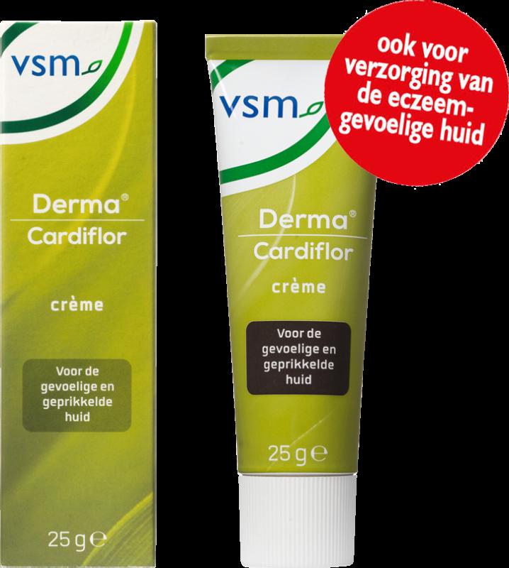 Afbeelding: VSM Derma Cardiflor crème voor de eczeem-gevoelige huid