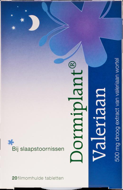 Afbeelding: Dormiplant Valeriaan van VSM bij slaapstoornissen