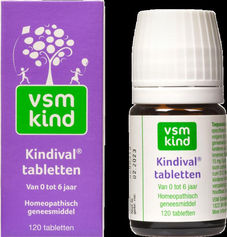 Afbeelding: Homeopathisch geneesmiddel VSM Kind Kindival tabletten