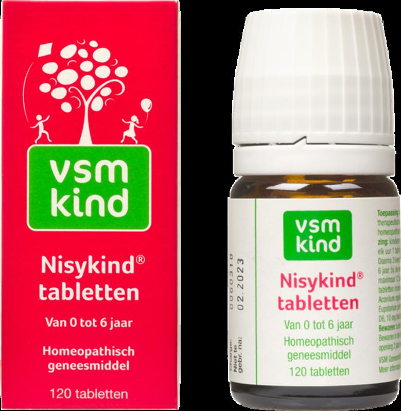 Afbeelding: Homeopathisch geneesmiddel VSM Kind Nisykind tabletten