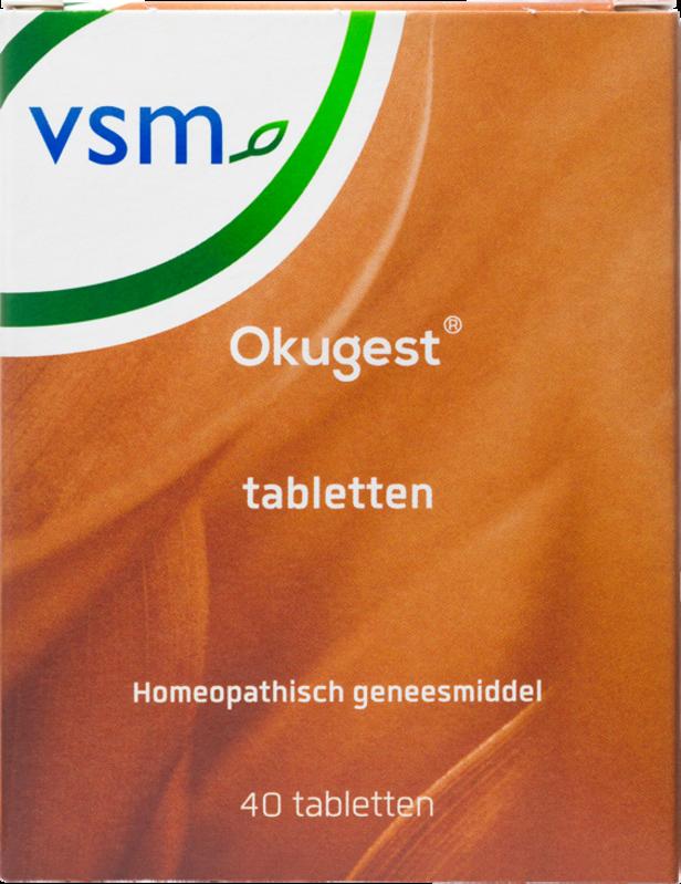 Afbeelding: Homeopathisch geneesmiddel VSM Okugest tabletten