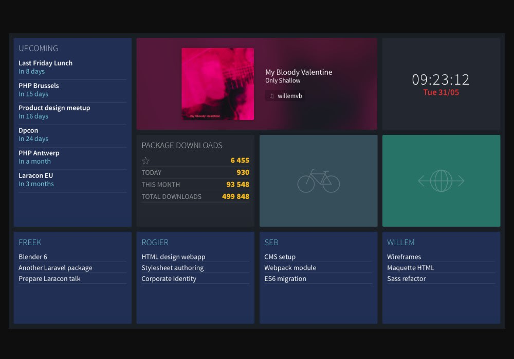 Building a Vue js and Laravel dashboard - Vue js Projects