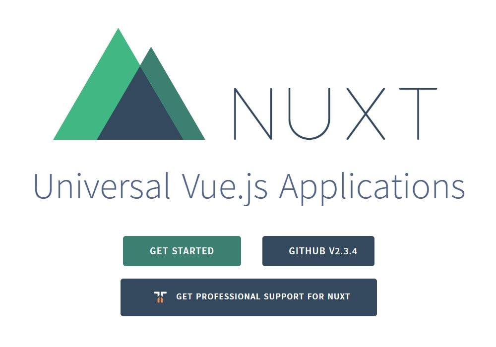 Nuxt js - Vue js Projects