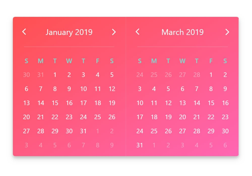 V-Calendar - Vue js Projects