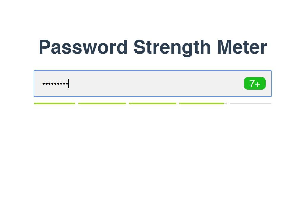 Vue Password Strength Meter - Vue js Projects