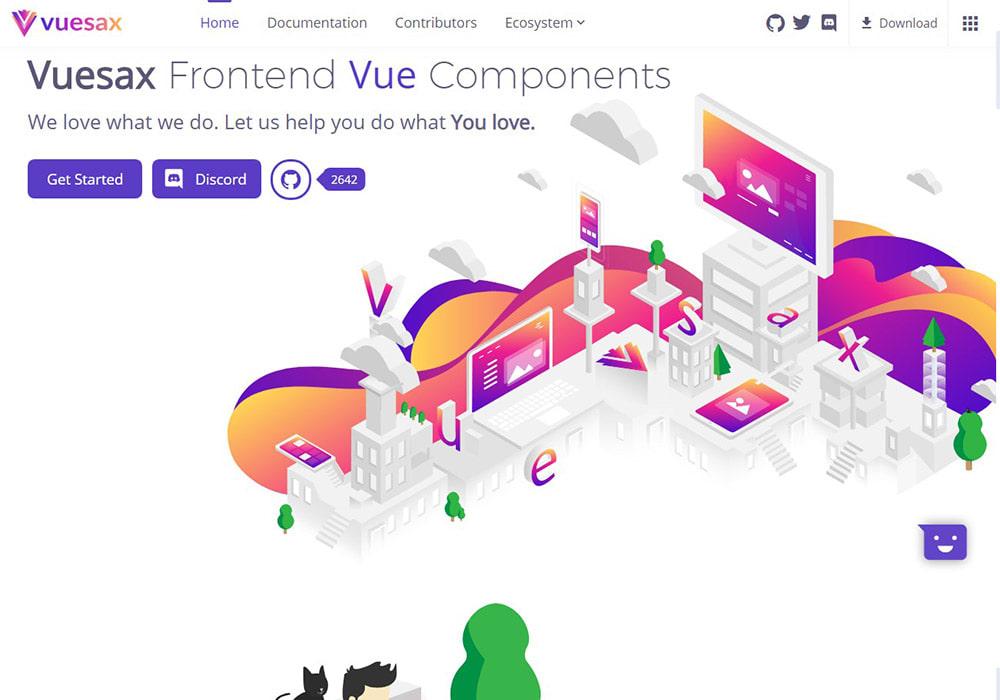 Vuesax - Vue js Projects