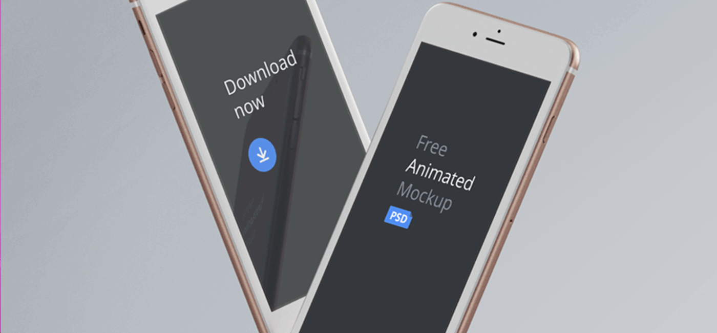 Top 25 Animated Mockup Design Templates PSD