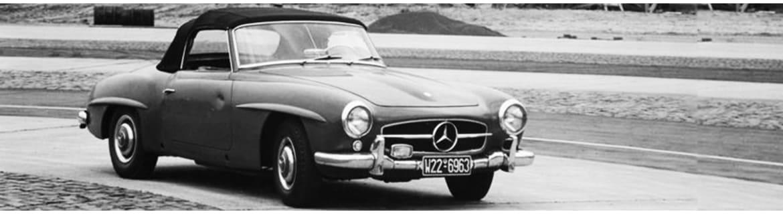 Beglazing & Ruitenreiniging 190SL W121 - Classic Mercedes Parts