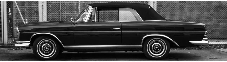 Chrome W111 Limo Coupe Cabrio - Classic Mercedes Parts