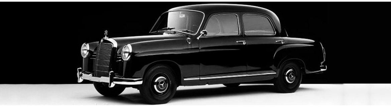 Achteras - Ponton W120 W121 W105 W180 W128 - Classic Mercedes Parts