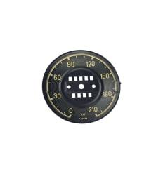 Speedometer Cover - W121 - KM Versie