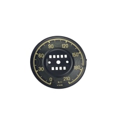 Speedometer Cover - 190SL W121 - KM Versie