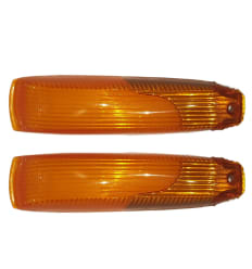Blinkerglas Orange - Ponton - 0005449390 0005449490