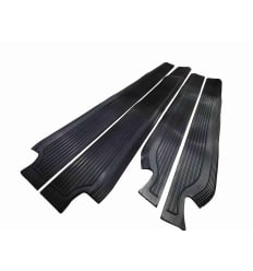 Sill Mat Set Rubber Black W108 W109