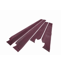 Sill Mat Set Rubber Burgundy Red W114 W115