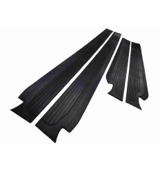 Sill Mat Set Rubber Black W114 W115
