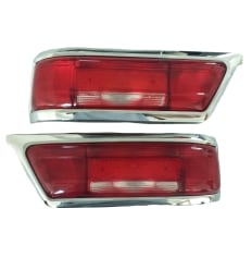 Tail Light Lenses Left and Right - Early Model - 250 SL - 280 SL - 1138201564 - 1138201664