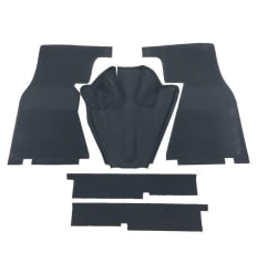 Complete Set Rubber Mat (OEM) - 5 pieces - W121