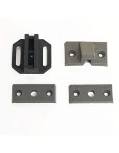 Motorkap Plastic Steun Kitje (4-Delig) - W113