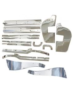14-Pieces Kit de Baguettes Portes W113 230SL 250SL 280SL