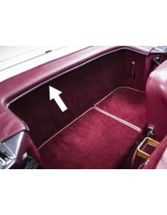 Motorkap Scharnieren Set W113