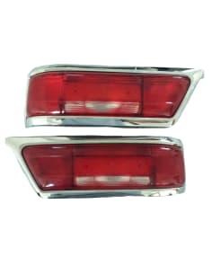 Achterlicht Glazen Links en Rechts - Vroeg Model - 250 SL - 280 SL - 1138201564 - 1138201664