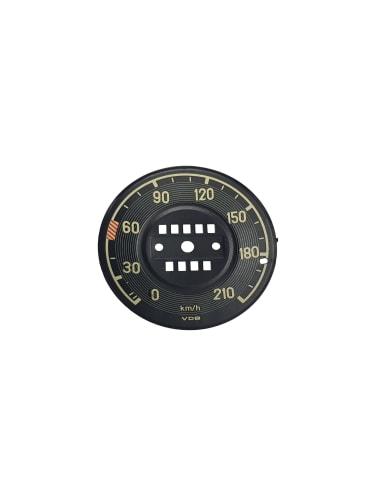 Speedometer Cover - W111 - KM Versie