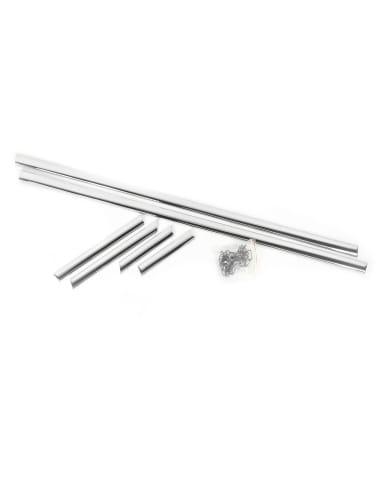 Sierlijsten voor Zijkant in Aluminium - 6 delig - W113