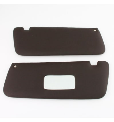 Pair of Brazil Brown Sun Visors - RHD - SL 107 - Classic Mercedes Parts 06af8490dce