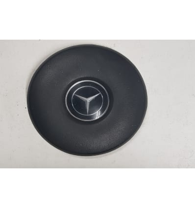 1959-'76 Black Steering Wheel Centre Pad - W113 - 1154640342