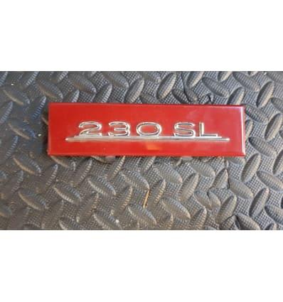 Radio Delete Plate 230SL W113