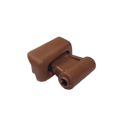 Sun Visor Clip Set Brown - SL 107