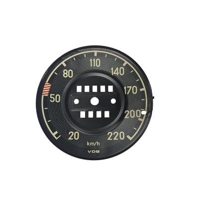 Speedometer Cover - W113 - KM Versie