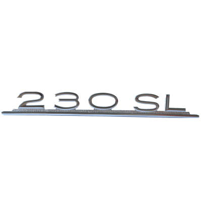 Model Emblem - Type Designation - 230 SL - Reproduction