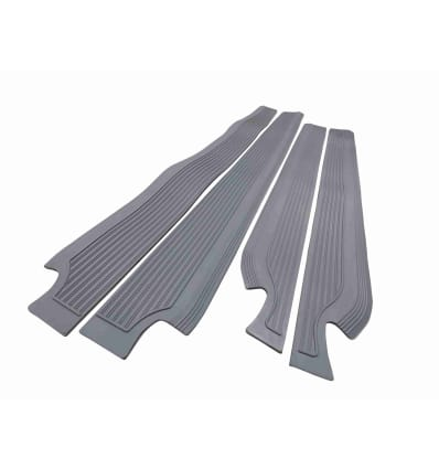 Sill Mat Set Rubber Grey W108 W109