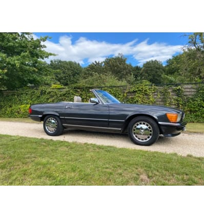 1986 MERCEDES-BENZ W107 560 SL European version