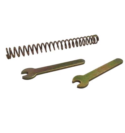 Set Forklinks + Spring - Glovebox Lid - W113