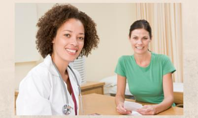 women's health doctor's office