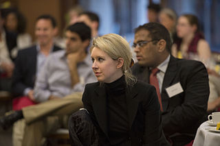 Elizabeth Holmes, CEO of Theranos, in 2013. Image courtesy of Wikimedia Commons