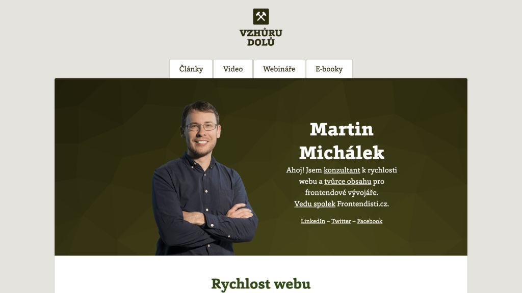 Martin Michálek konzultant